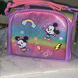 Mickey and Minnie Mouse Rainbow Lunchbox